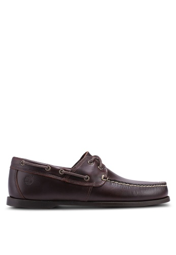 Timberland brown Cedar Bay Boat Shoes 62483SHCAAB74FGS_1