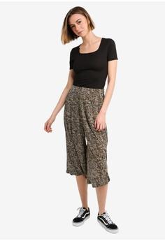 2cad62136f5152 UniqTee Printed Palazzo Trousers RM 79.90. Sizes S M L XL