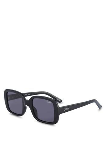 Quay Australia black QUAYXKYLIE 20'S Sunglasses QU661GL0S8MOMY_1