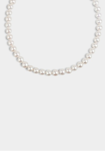 monojewelry THE CLASSIC ROUND PEARL NECKLACE A14CBAC3FDFC12GS_1