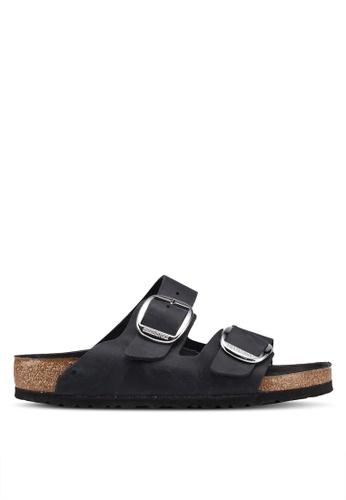 Birkenstock black Arizona Big Buckle Sandals 88B51SHD8F256BGS_1