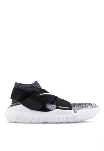 Nike black Nike Free Rn Motion Fk 2018 Shoes 6789CSHF0F12D4GS_1