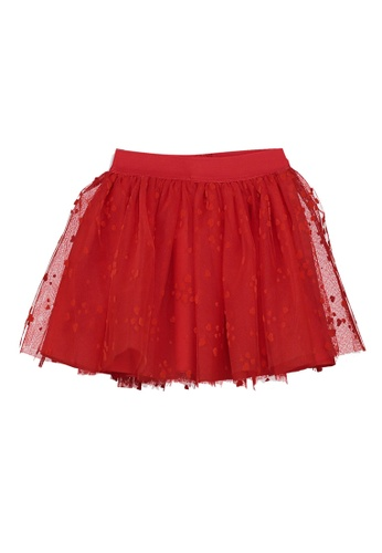 LC Waikiki red Baby Girl's Tulle Skirt 0FDC4KA62DB558GS_1