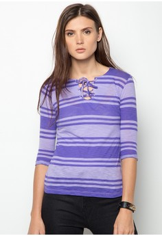 Dina Stripe Long Sleeve Shirt