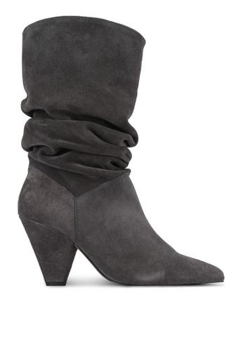 Carvela KG grey Grey Suede Boots CA459SH0SCM4MY_1
