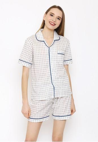 JOYFULIE brown Martha Short Pajamas  JO581US0WM3HID_1