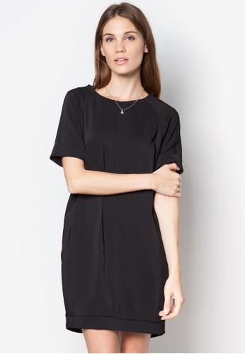 拉鍊直筒連衣裙, 服zalora是哪裡的牌子飾, 洋裝