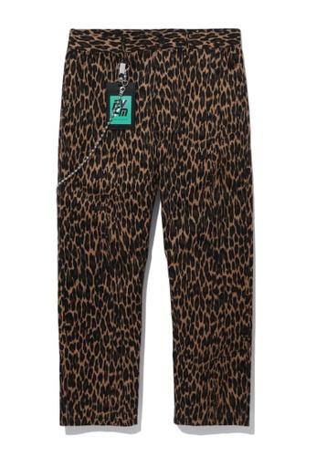 Fivecm brown Wide pants AD42BAAF040838GS_1