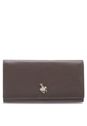 Swiss Polo brown Swiss Polo Leather Wallet EE0C5ACBA4A46DGS_1
