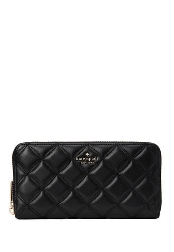 Kate Spade black Kate Spade Natalia Large Continental Wallet - Black 8CE08AC97F1292GS_1