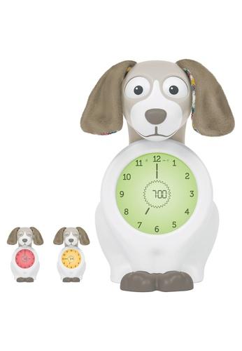 Zazu [Zazu Kids] Davy the Dog, Sleep Trainer with Nightlight and Alarm Clock, Comes with Analogue and Digital Clock for Kids - Taupe 07B5FHL0C67739GS_1