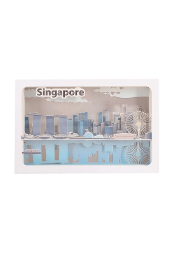 Klosh Light Box - Singapore CBD Skyline Paper Cut 8AE04ES1EA629CGS_1