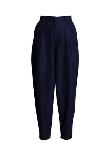 Vivi Zubedi navy Cordoray Baggy Pants 4CDA9AA25251B0GS_1