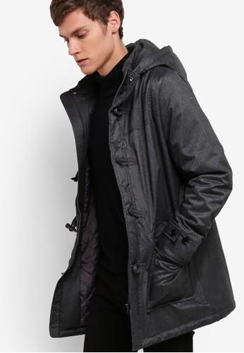 軟esprit台灣襯粗呢長版外套, 服飾, 服飾