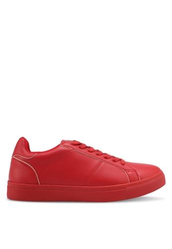 ZALORA red Classic Lace Up Sneakers E14C0SH77E0038GS_1