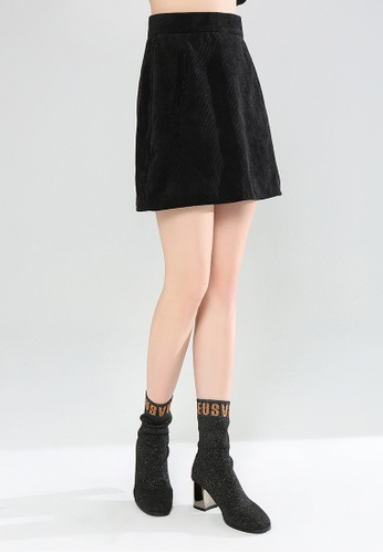 60056c864bc506 Buy London Rag Corduroy A-Line Mini Skirt Online on ZALORA Singapore