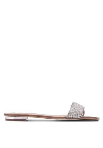 ALDO silver Soffia Sliders AL087SH0SAF8MY_1