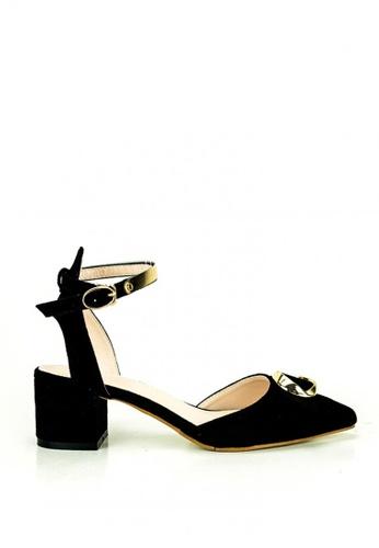 Cardam's Lifestyle black Alexia Heeled Sandals 5FCCESH0227494GS_1