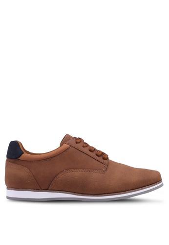 ALDO brown Toppole Smart Casual Shoes AC81ESH6A1C218GS_1