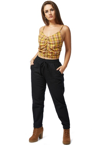 London Rag black Black Easy to Live Trousers DC261AAD595FF0GS_1