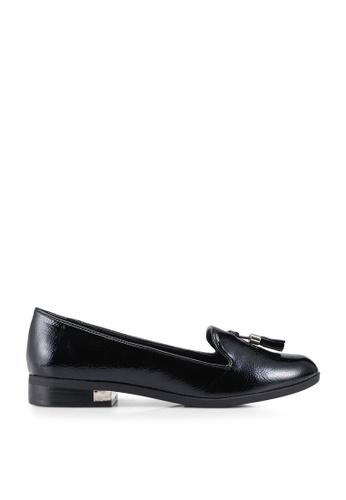 Call It Spring black Kilania Tassel Loafers EE8CESH538AA92GS_1