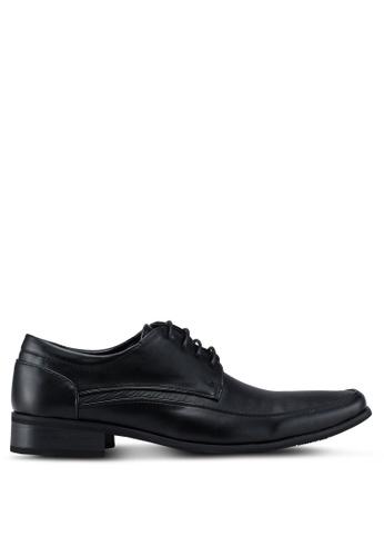 Louis Cuppers black Faux Leather Dress Shoes 1CEF4SH438D94FGS_1