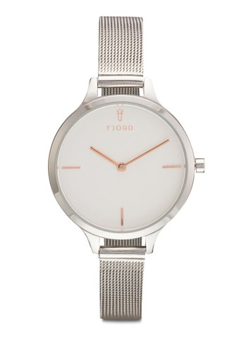 GYDA 金屬網眼圓框esprit 鞋手錶, 錶類, 飾品配件