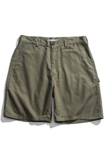 Twenty Eight Shoes Loose Straight Tube Cargo Shorts HH9008 B6E63AA6966254GS_1