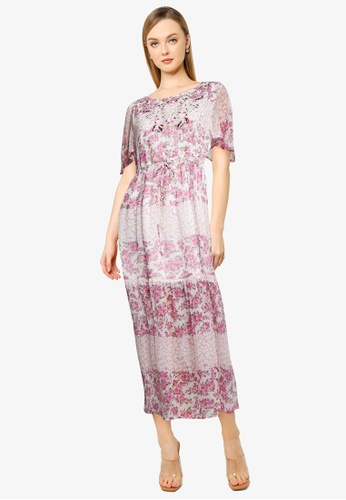 French Connection white Ezeke River Daisy Crinkle Dress D64F4AA7F38DEEGS_1