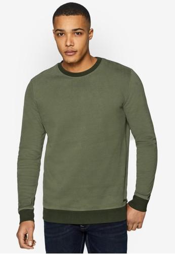 ESPRIT green Long Sleeve Sweatshirt D0124AA7528C4EGS_1