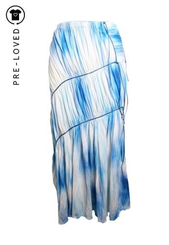 Issey Miyake blue Pre-Loved issey miyake Tie And Dye Dress With Dark Blue Cords 76862AA3F6C83CGS_1