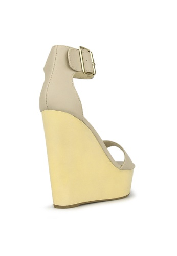 Guess Sale Women BANNI High heeled sandals white Online 1031