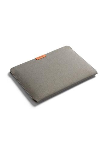 "Bellroy grey Bellroy Laptop Sleeve 15"" - Limestone 9E4EDAC1D65216GS_1"