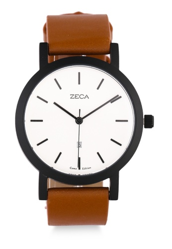 ZECA brown Zeca Watches Couple Man Fashion - 3009M Brown 32E38AC28819B2GS_1