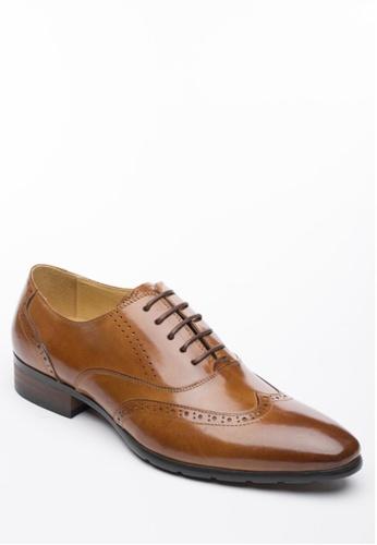 Kings Collection brown Alston Oxford Shoes KI877SH36ZKPPH_1