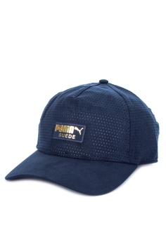 a4be8223748a4 Sizes One Size · Puma navy Suede Baseball Cap B19F8AC8FF9DDEGS 1