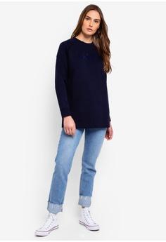 31097b917e3a 45% OFF Calvin Klein Long Sleeve Fa Logo Raglan Sweatshirt - Calvin Klein  Jeans RM 669.00 NOW RM 366.90 Sizes XS S M L XL