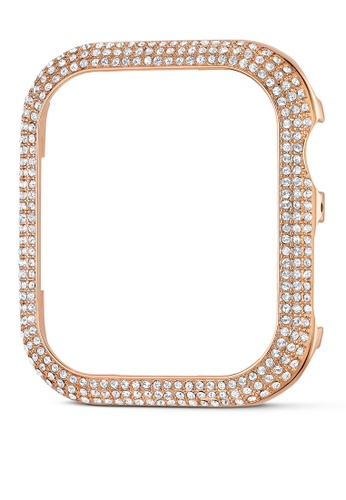 SWAROVSKI pink and gold Sparkling Case Apple Watch compatible 4B7FCAC50FC64EGS_1