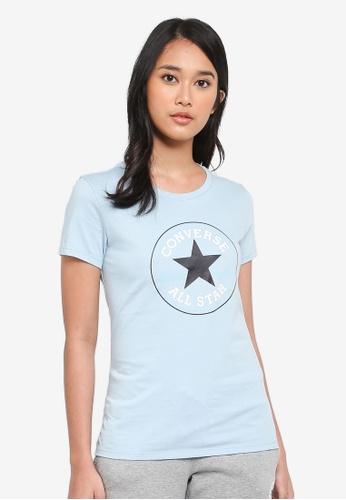 5b5575f3538 Converse blue Converse All Star Core Chuck Patch Crew Tee DB7DCAABB5A1CBGS 1