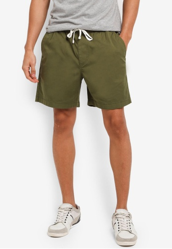 J.Crew green Dock short in stretch chino 42C9CAAD0B79FAGS_1