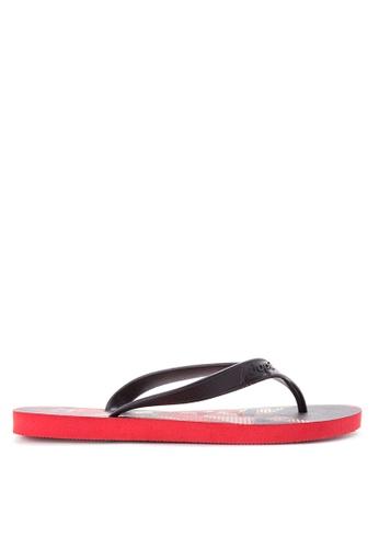 Dupe red Surfe Flip Flops DU626SH58SYFPH_1