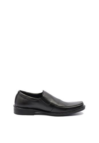 Dr. Kevin black Dr. Kevin Men Dress & Bussiness Formal Shoes 13282 - Black DR982SH0UMLGID_1