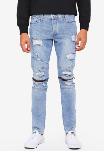 Jack & Jones blue Glenn Charlie Jeans 1A13AAA65E2210GS_1