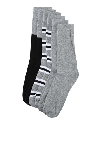 6c122d0fd9dc0 Buy OVS 3 Pack Man Long Socks Online on ZALORA Singapore