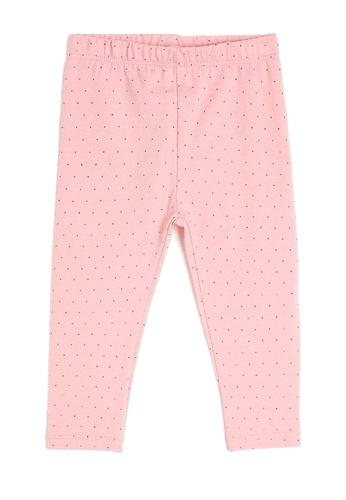 KOTON pink Print Leggings 7E387KA3630E4DGS_1