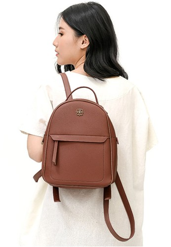 Les Catino pink Paris Milla Backpack 41F0EACF5200C2GS_1