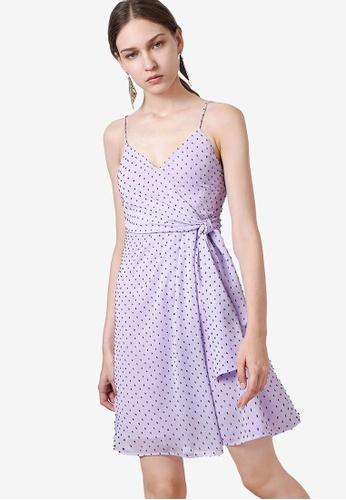 Saturday Club 紫色 Strap 綁帶洋裝 6F6A5AA11D50F7GS_1