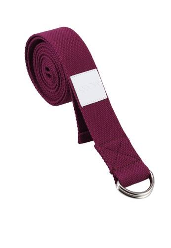 MOSSGOODS purple Stretching Strap (Plum) 20AAEAC5868C28GS_1