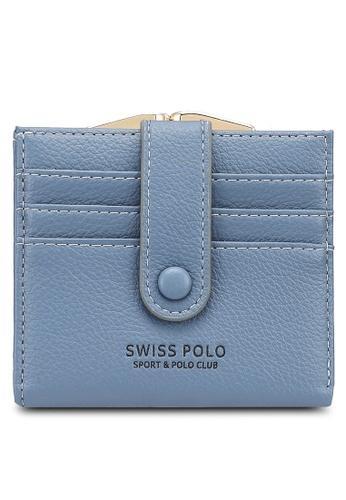 Swiss Polo blue Plain Mini Purse C9307AC66C5B19GS_1
