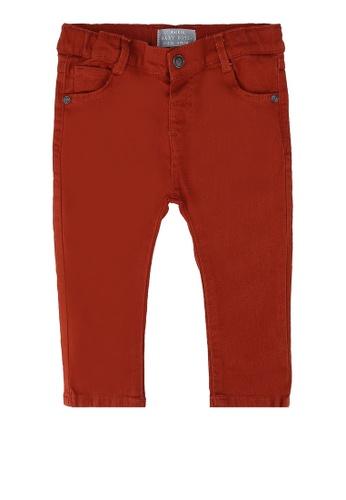 LC Waikiki red Slim Fit Medium Trousers 1B79BKA78247BFGS_1